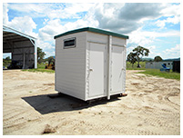 Prefabricated Toilet Hire